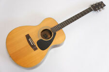 YAMAHA FG-200F Acoustic Guitar Black Label Made in Japan AS-IS Free Ship 187v09