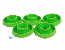(Lot of 5) Water Bottle Snap On Caps 55mm Lids Dew Caps Tops Jug LIME GREEN New