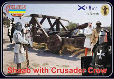 Strelets - Shaab with crusader crew - 1:72