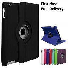 360° Rotating Leather Stand Case Cover for iPad/ iPad Mini/iPad Air/iPad Pro 9.7
