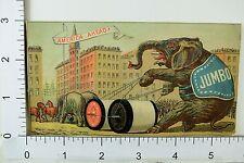 Willimantic Linen Co Spool Thread Jumbo Elephant Horses Parade Giant Spools F64
