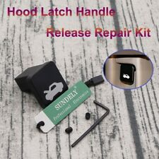 For Honda Civic Bonnet Hood Release Latch Lever Pull Cable Handle Repair Black