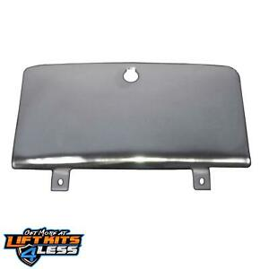 Rugged Ridge 11125.01 Staiinless Steel Glove Box Door for 76-1986 Jeep CJ-5/CJ-7