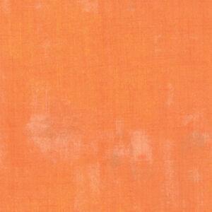 Moda Grunge Clementine 30150 284 Orange Quilting Cotton Fabric