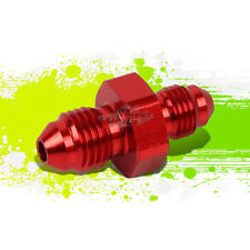 RED ALUMINUM 3AN MALE TO 4-AN FLARE REDUCER ADAPTER UNION PIPE FITTING HOSE/LINE