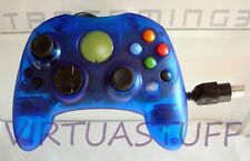 TTX Tech, Mini Controller, Wired, XBOX, gamepad, clear blue, S, excellent condit