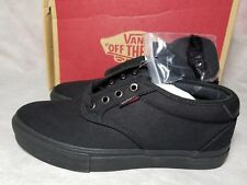 New Vans Chima Ferguson Pro Marble Black Gum Red Canvas Skate Shoe Men Size 7