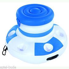 Poolbar Getränkekühler 6 Getränkehalter Kühlbox Fußball Party Cooler 43117