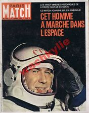 Paris Match n°833 27/03/1965 Espace Leonov URSS Rugby Tournoi 5 nations Picasso