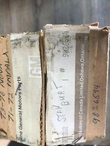 1973 74 75 CHEVY NOVA SS NOS GM CHROME SIDE VIEW MIRROR 9826594
