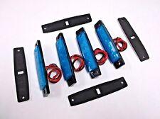 4 BBT 12 volt Large Waterproof Cool Blue LED Courtesy Lights for RVs