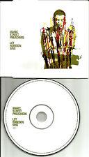MANIC STREET PREACHERS Let Robeson Sing 2001 UK Made PROMO CD Single USA Seller