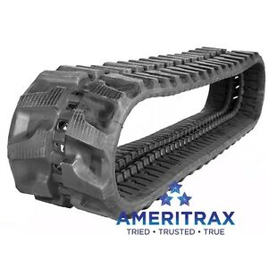 300x52.5x72 Rubber Tracks For Sale - Price Per Track - Fits These Machines *SALE