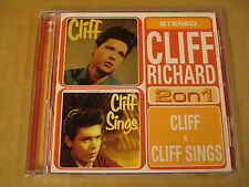 CD / CLIFF RICHARD - 2 ON 1 CLIFF / CLIFF SINGS