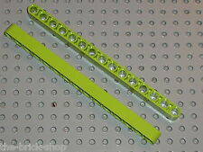 LEGO Technic 2 lime Beam 15 ref 32278 / set  8274 8649 8307 8284 8959