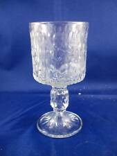 RETRO X4 DRINKING GLASSES CLEAR WHITE WINE
