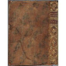 POÉSIES de Madame et Mademoiselle DESHOULIÈRES Édit. augmentée VILLETTE 1732 T.1