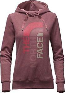 The North Face Women's TriVert Logo Hoody, Renaissance Rose/Grey, XSmall