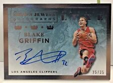 Blake Griffin 2015-16 Panini LUXE Crown Jewels on-card Autograph Auto #'d 25/35