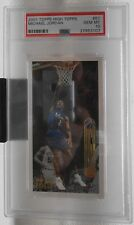 Michael Jordan 2001 Topps High PSA 10 Gem Mint Very Tough Set To Grade