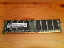 Kingston PC3200 (DDR-400) 1GB DIMM 400 MHz PC-3200 DDR SDRAM Memory...