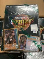 1992-93 Fleer Series 1 Basketball Box Factory Sealed 36pc Michael Jordan Inserts