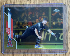 Mike Trout 2020 Topps Chrome Gold Photo Variation 27/50 Matching Jersey # SP
