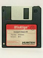 Hunter F10-N11 WinAlign Alignment Floppy Disk Software P-70