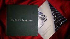 BREITLING for BENTLEY 2008 Hardcover Book with 2008/2009 WATCH Price List + TOTE