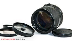 Canon FD 1,8/85 mm ** lichtstarkes Teleobjektiv mit Canon FD-Bajonett