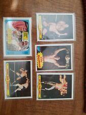 1985 Topps Wrestling WWF WWE 5 Card Lot Santana PSA BGS SGC??