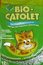 6x12=72 L Bio-Catolet Katzenstreu sanftes Hygienestreu NEU