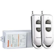 1Ch 300M 2 Remotes Wireless Remote Power Switch Long Distance 110 120V 220V 240V