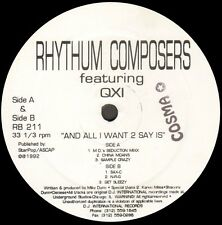 RHYTHUM COMPOSERS - And All I Want 2 Say Is - feat QXI - rhythm beat - RB211