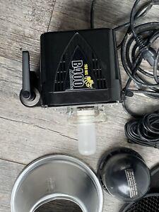 Paul C Buff Alien Bees B400 160WS Black Pro Photo Flash Unit.  Cord And Grids