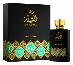 Sehr al Sheila 100ml EDP Floral Patchouli Wood Exclusive to Swiss Arabian!!