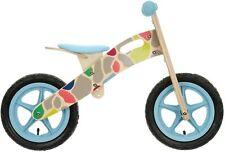 "& Apollo Wooden Giraffe Balance Bike Bicycle 12"" Wheels Wood Frame Age 3-5 21 2"