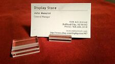 """50 Card 1-1/4"""" Display Stands For Price Information description cards"""