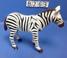 (B263) playmobil zèbre, zoo