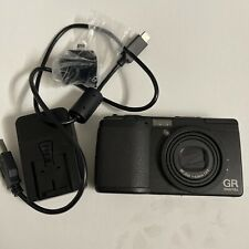 Ricoh GR Digital 10.0MP Digital Camera - Black