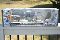 ELITE FORCE P-51D MUSTANG WW2 Fighter Plane Model Toy 1/18 Scale New Sealed Crow