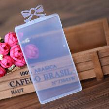 Mini Plastic Square Clear Retangle Storage Container Jewelry Bead Display Boxes