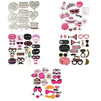 Hen Do Bachelor Party Selfie Photo Booth Props Kit Night Games Accessories