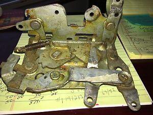 NOS OEM Ford 1965 1966 Galaxie 500 Door Latch Left Hand XL LTD 2 Door