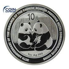 *** 10 YUAN CHINA 2009 Panda Silber Münze Gedenkmünze 1 OZ ***