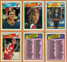 1988-89, TOPPS , COMPLETE SET, 1/198