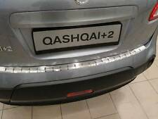 Rear Bumper Protector Stainless Steel Scuff Plate fit Nissan Qashqai +2 2008-