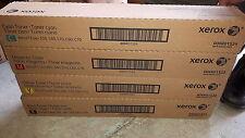 New Genuine Xerox 6R1521 6R1522 6R1523 6R1524 Color 550 560 C60 Toner Set sealed