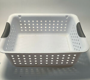 Sterilite Storage Basket Plastic 13.75 X 10.75 Inch