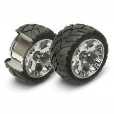 Traxxas TRA5576R Mirror-Chrome All Star Wheel/Anaconda Tire 2wd Nitro Rr/Elec Fr